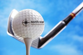 Branded golf ball
